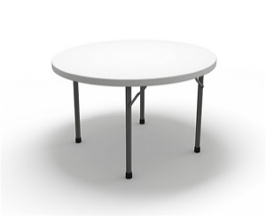 "7700 Series, 60"" Round Folding Table, 29""H"