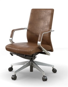 OFS Pur Mid Back Office Chair