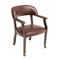 Regency - Ivy League Traditional Captain Chair - Casters - 9004C