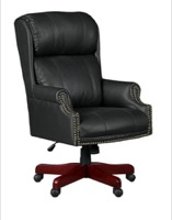 Regency - Barrington Traditional Swivel Chair - Leather