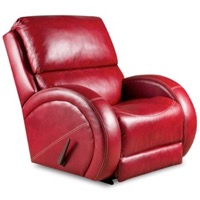 Leather Rocker Recliner