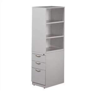 "Great Openings Bookcase Tower 2 File Drawers - 51 3/8""H"