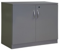 Great Openings Storage - Double Door Cabinet - 2-High 1 Shelf