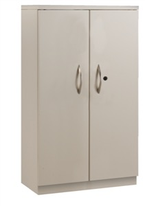 Great Openings Storage - Double Door Cabinet - 4-High 3 Shelves