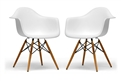 Eames-Inspired Molded Plastic Chair