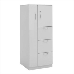 "Great Openings Wardrobe Cupboard Tower 3 Drawer File - 65 7/8""H"