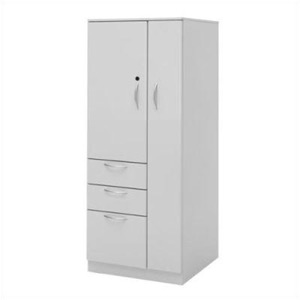 "Great Openings Wardrobe Cupboard Tower 3 Drawers - 65 7/8""H"
