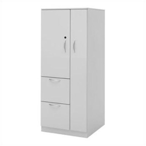 "Great Openings Wardrobe Cupboard Tower 2 Drawer File - 51 3/8""H"