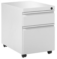 "Great Openings Storage - Mobile Pedestal - Box / File - 21 1/8""H x 27 7/8""D"