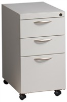 "Great Openings Storage - Mobile Pedestal - File / File - 26 7/8""H x 27 7/8""D"