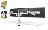 ESI Evolve Flat Panel Display Triple Monitor Arms