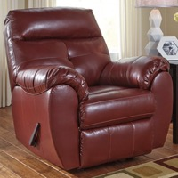 Crimson Rocker Recliner