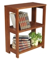 "Flip Flop 28"" High Folding Bookcase - Cherry"