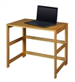 "At Home Flip Flop 31"" Folding Desk - Medium Oak"