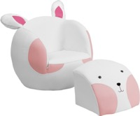 Kid Rabbit Chair and Footstool