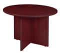 "Regency Legacy 42"" Round Conference Table - Mahogany"
