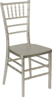 Chiavari Chair  - HERCULES PREMIUM Series Champagne Resin Stacking Chiavari Chair