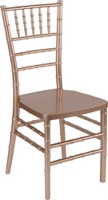HERCULES PREMIUM Series Rose Resin Stacking Chiavari Chair