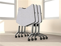 Mayline Flip-N-Go Conference Training Tables LT24