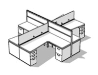 Watson M2 Modular Office Furniture