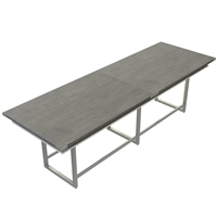 Mirella Conference Table - Standing-Height, 12 ft.