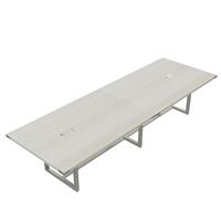 Mirella Conference Table - Sitting-Height, 12 ft.