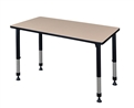 "Regency Kee Classroom Table - 48"" x 30"" Height Adjustable"