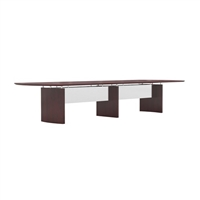 Napoli Conference Table - 14' Curved Ends