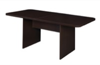 Niche Mod 6' Conference Table with No-Tools Assembly - Truffle
