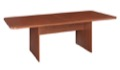 Niche Mod 7' Conference Table with No-Tools Assembly - Cherry