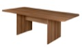 Niche Mod 7' Conference Table with No-Tools Assembly - Warm Cherry