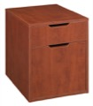 Niche Mod Freestanding Box File Pedestal with no Tools Assembly - Cherry