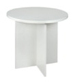 "Niche Mod 30"" Round Table - White Wood Grain"