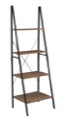 "Niche Soho 72"" Ladder Bookcase - Urban Walnut"