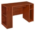 "Niche Mod 31"" Desk with 2 shelf Bookcase  - Cherry"