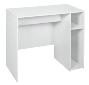 "Niche Mod 31"" Desk -White Wood Grain"
