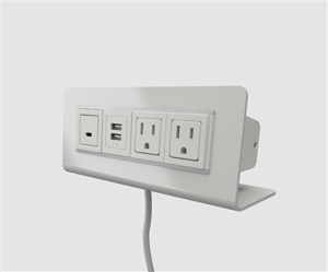 Worksurface Power and USB Charging Modules