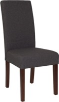 Gray Fabric Parsons Chair