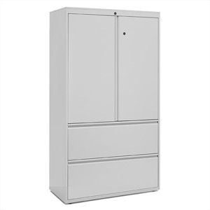 "Great Openings Storage - Lateral File - 2 Drawer with Cabinet - 65 7/8""H x 36""W"