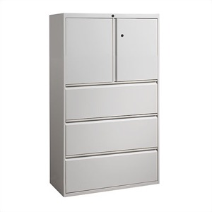"Great Openings Storage - Lateral File - 3 Drawer with Storage Cabinet - 65 7/8""H x 36""W"