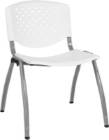 White Plastic Stack Chair