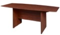 "Sandia 120"" Boat Shape Conference Table featuring Lockdowel Assembly - Cherry"