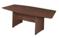 "Sandia 71"" Boat Shape Conference Table featuring Lockdowel Assembly - Java"