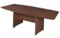 "Sandia 95"" Boat Shape Conference Table featuring Lockdowel Assembly - Java"