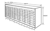 Mailroom Kwik-File Mail Sorter