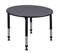 "Kee Classroom Table - 48"" Round Height Adjustable"
