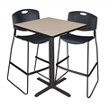 "Cain Cafe-Height Table - 30"" Square"