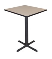 "Cain 30"" Square Cafe Table - Beige"
