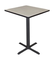 "Cain 30"" Square Cafe Table - Maple"