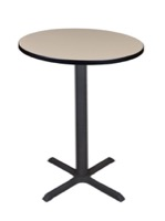 "Cain 30"" Round Cafe Table - Beige"